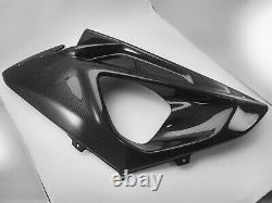 09-14 BMW S1000RR Integrated Upper & Lower Side Fairing Cover Panel Twill Carbon