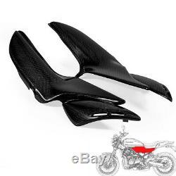 100% Carbon Fiber Full Side Panels Glossy Twill For Kawasaki Z900RS