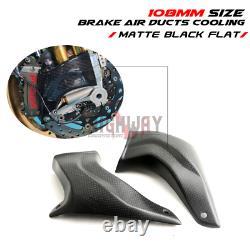 108mm Carbon Fiber Cooling Brake Disc Air Ducts for Honda CBR600RR F5 07-20