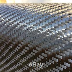 12 x 50 Ft-CARBON FIBER -12K Tow 400g/m2 -2x2 TWILL WEAVE -0.46mm Thick