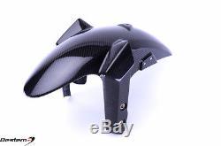 14-16 Yamaha FZ-09/MT-09 FZ 09 MT 09 100% Carbon Fiber Front Fender, Twill