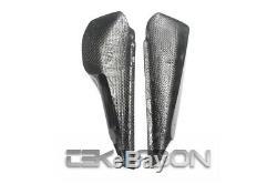 1995 2007 Ducati Monster Carbon Fiber Side Panels Fairings 2x2 twill weave