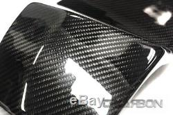 2003 2008 Buell XB Carbon Fiber Frame Covers 2x2 twill weave