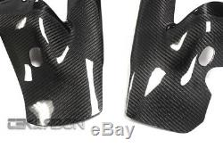 2004 2007 Honda CBR1000RR Carbon Fiber Frame Covers 2x2 Twill