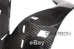 2004 2007 Honda CBR1000RR Carbon Fiber Frame Covers 2x2 twill weaves