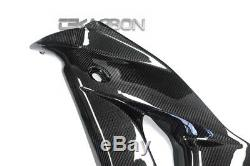 2004 2007 Honda CBR1000RR Carbon Fiber Large Side Fairings 2x2 twill weave