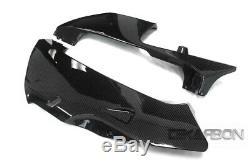2005 2006 Honda CBR600RR Carbon Fiber Tank Cover 2x2 twill weave