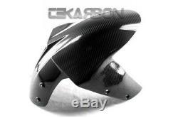 2005 2006 Kawasaki ZX6R / ZX10R Carbon Fiber Front Fender 2x2 twill weave