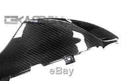 2005 2006 Suzuki GSXR 1000 Carbon Fiber Air Intake Cover 2x2 twill weave