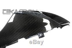 2005 2006 Suzuki GSXR 1000 Carbon Fiber Air Intake Covers 2x2 twill