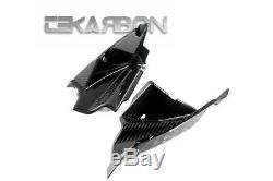 2005 2010 KTM Super Duke 990 Carbon Fiber Air Intake Covers 2x2 twill weaves