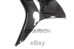 2006 2007 Honda CBR1000RR Carbon Fiber Large Side Fairings 2x2 twill weave