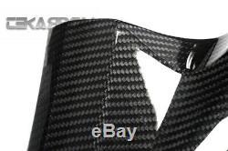 2006 2007 Kawasaki ZX10R Carbon Fiber Side Tank Panels 2x2 twill weave