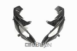 2006 2007 Suzuki GSXR 600 / 750 Carbon Fiber Air Ram Intake Covers 2x2 twill