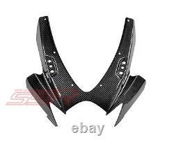2006 2007 Suzuki GSXR600 GSXR750 Upper Cowl Headlight Fairing Twill Carbon Fiber