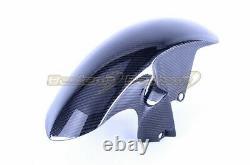 2006-2007 Yamaha R6 Front Fender Mud Guard Splash Cover Carbon Fiber Twill