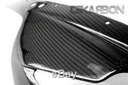 2006 2008 Triumph Daytona 675 Carbon Fiber Front Fairing 2x2 twill weave