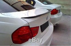 2006-2011 BMW E90 3 Series M3 Sedan 4 Doors Carbon Fiber Rear Trunk Spoiler NEW