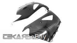 2006 2011 Kawasaki ZX14R Carbon Fiber Lower Side Fairings 2x2 Twill weave