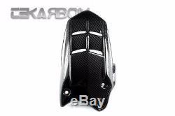 2006 2012 Triumph Daytona 675 Carbon Fiber Rear Hugger Long 2x2 twill