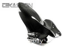 2006 2012 Triumph Daytona 675 Carbon Fiber Rear Hugger Medium 2x2 twill