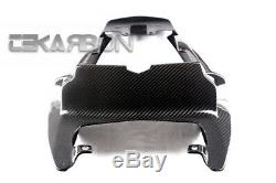 2006 2012 Triumph Daytona 675 Carbon Fiber Under Tail Fairing 2x2 twill
