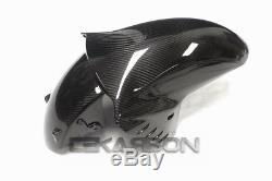2006 2016 Kawasaki ZX14R Carbon Fiber Front Fender 2x2 twill weave
