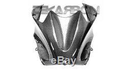 2006 2016 Kawasaki ZX14R Carbon Fiber Tank Cover 2x2 Twill weave