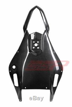 2007 07 Yamaha R6 Rear Tail Undertray Cover Taillight Fairing Twill Carbon Fiber