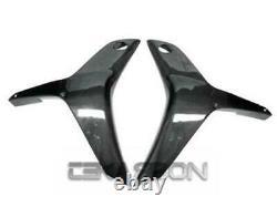 2007 2008 Honda CBR600RR Carbon Fiber Y Side Fairings