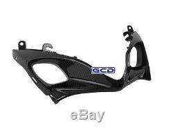 2007 2008 Suzuki GSXR 1000 Front Nose Intake Ram Fairing 100% Twill Carbon Fiber