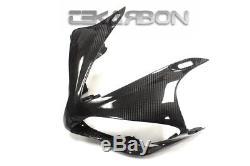 2007 2008 Yamaha YZF R1 Carbon Fiber Front Fairing 2x2 twill weave