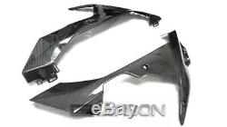 2007 2008 Yamaha YZF R1 Carbon Fiber Lower Side Fairings 2x2 twill weave