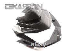 2007 2011 Kawasaki Z750 Carbon Fiber Front Fairing v39 2x2 twill
