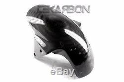 2007 2011 Kawasaki Z750 Carbon Fiber Front Fender 2x2 twill weaves