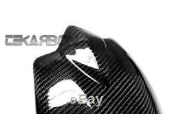2007 2011 Kawasaki Z750 Carbon Fiber Mud Rear Hugger Guard 2x2 twill weaves