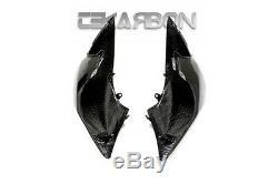 2007 2011 Kawasaki Z750 Carbon Fiber Tail Side Fairings 2x2 twill weaves