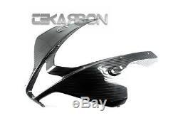 2007 2012 Honda CBR600RR Carbon Fiber Front Fairing 2x2 twill weave
