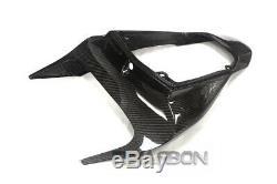 2007 2012 Honda CBR600RR Carbon Fiber Rear Cowl Cover Tail Fairing 2x2 twill