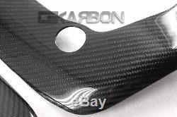 2007 2016 Honda CBR 600RR Carbon Fiber Frame Covers 2x2 twill weave