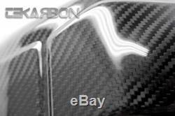 2007 2016 Honda CBR600RR Carbon Fiber Exhaust Heat Shield 2x2 twill weave