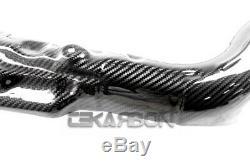 2007 2019 Honda CBR 600RR Carbon Fiber Exhaust Heat Shield 2x2 twill weave