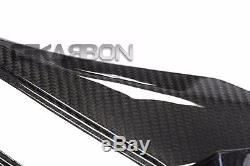 2008 2009 Kawasaki ZX10R Carbon Fiber Air Intake Covers 2x2 twill weaves