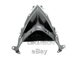 2008 2009 Kawasaki ZX10R Carbon Fiber Intake Nose Fairing 2x2 twill