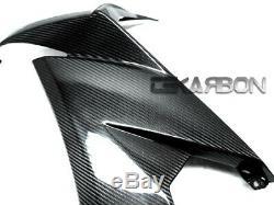 2008 2009 Kawasaki ZX10R Carbon Fiber Large Side Fairings Panels 2x2 twill