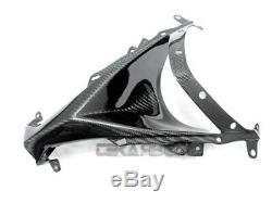 2008 2009 Kawasaki ZX10R Carbon Fiber Nose Fairing 2x2 Twill weave