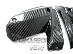 2008 2009 Kawasaki ZX10R Carbon Fiber Side Fairing Panels 2x2 Twill weave