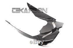 2008 2010 Kawasaki ZX10R Carbon Fiber Front Under Panel 2x2 twill weaves