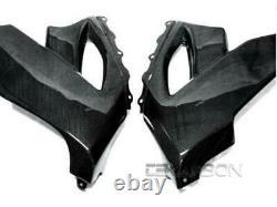 2008 2010 Kawasaki ZX10R Carbon Fiber Lower Side Fairings