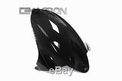 2008 2010 Kawasaki ZX10R Carbon Fiber Rear Hugger 2x2 twill weaves